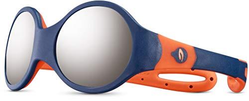 Julbo Unisex Loop M Sonnenbrille, Dunkelblau/Orange, 1-3 Jahre