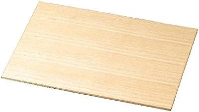 松屋漆器店 白木塗タモ製15.0寸ランチョンマット