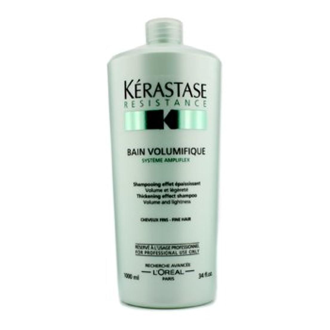 ハウジングことわざ探検[Kerastase] Resistance Bain Volumifique Thickening Effect Shampoo (For Fine Hair) 1000ml/34oz