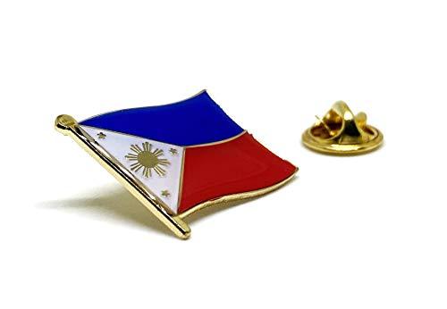 Philippine Flag Lapel Pin - Philippines Filipino Flag Brooch