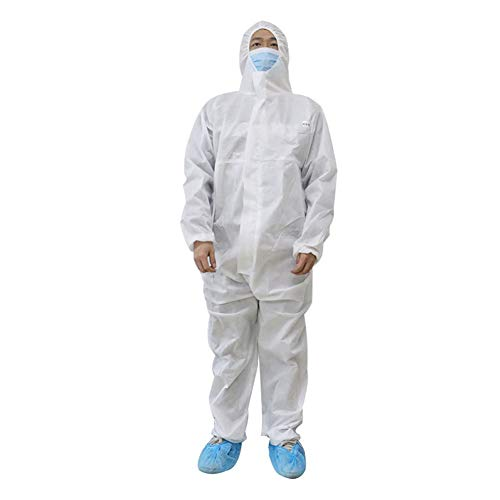 PREMOD Isolationskleid - Leicht, Medizinisch, Nicht Gewebt, Overalls, Latexfrei - Mit Kapuze,XL