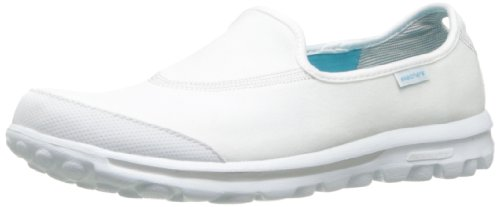 Solid White Ladies Shoe - 7