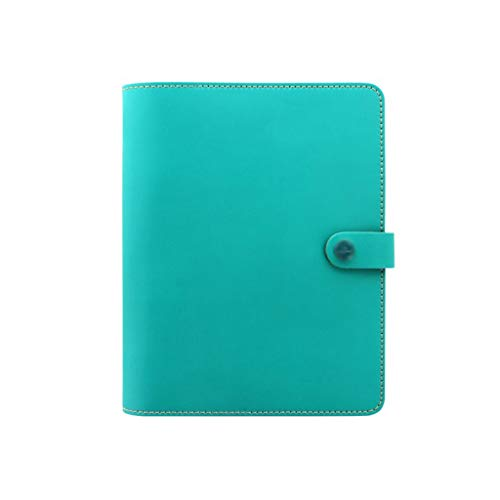 SFF Journals Journal A5 Notebooks Leather Binder Notepads Refillable Diary Book 6 Ring Ruled Journal Travel Journals Student Notebook (Color : GreenB)