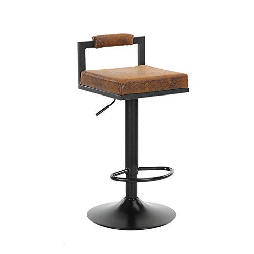 XUEPINGbtd Barhocker/Stuhl Counter Stuhl Drehstuhl Bürostuhl Küche Restaurant Barhocker/Stuhl Leerer Stuhl 4 Farbe High Hocker Stuhl (Farbe : D, größe : One)