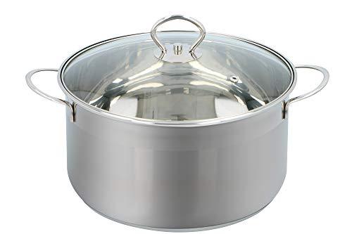 Alpina kookpan - Ø 24cm - glazen deksel - alle warmtebronnen