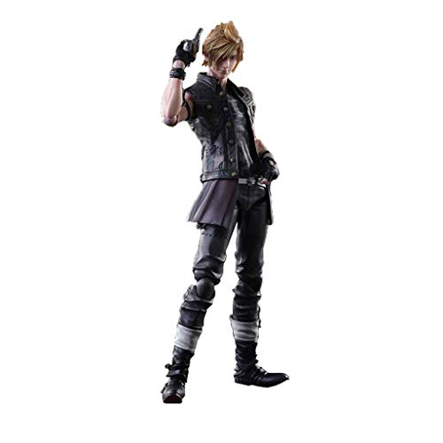 Final Fantasy XV Prompto Play Arts Kai PVC Figure - Hohe 9,84 Inches