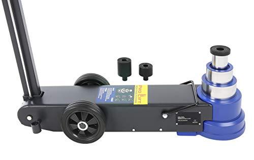 Pro-Lift-Montagetechnik 50t 30t 15t Teleskop Rangierheber Druckluftantrieb Wagenheber LKW FJ50AHTJ 02401