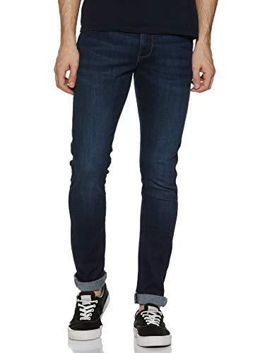 Wrangler Men's Skinny Fit Jeans (W38474W22SMU_Jsw-Indigo_32W x 33L)