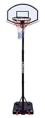 Hornet Höhenjustierbarer bis 260 cm Basketballständer, schwarz, M