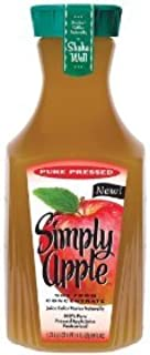 SIMPLY APPLE JUICE 100% 1.75L BOTTLE PACK OF 2
