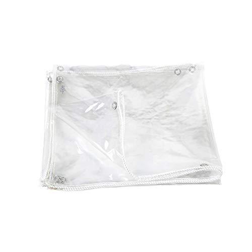 YBDXMM Lona De ProteccióN Impermeable A Prueba De Viento A Prueba De Polvo Toldo Exterior Impermeable Transparente,1.2x2m