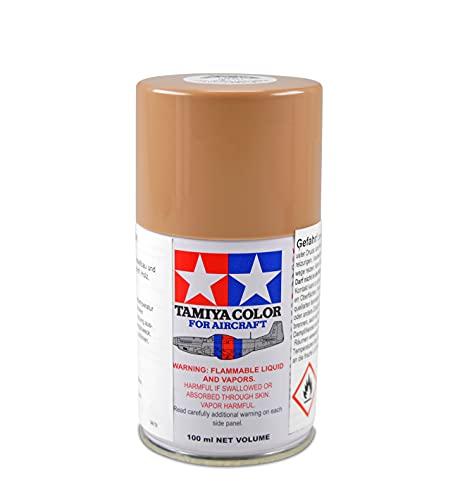 TAMIYA 86515 AS-15 marrone chiaro opaco (TAN) (USAF) 100 ml – Vernice spray per modellismo in plastica, specifica per modelli di aereo, modellismo e accessori per bricolage