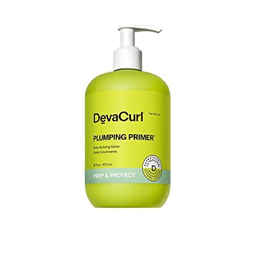 DevaCurl Plumping Primer Body-Building Gelée, Cozy Getaway, 16 fl. oz.