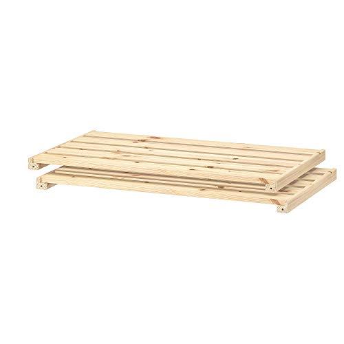 HEJNE estantería 77x47 cm madera blanda
