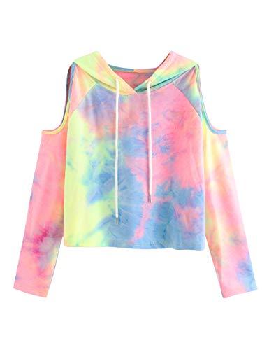 Neon Tie Dye Hoodie