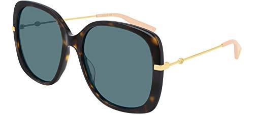 Gucci Occhiali da Sole GG0511S DARK HAVANA/BLUE 57/18/140 donna