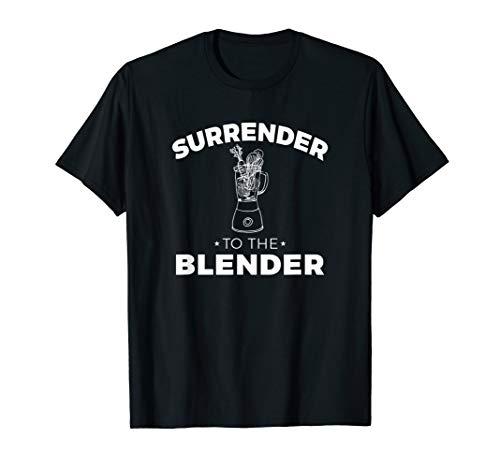 Surrender to the Blender Vegetable Smoothie - Vegan T-Shirt T-Shirt