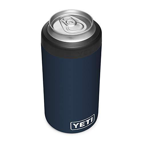 YETI Rambler Tall Colster, Vacuum Insulated, Stainless Steel, Navy