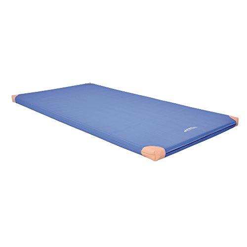 Grevinga® Turnmatte Super Soft (RG 22) - 200 x 120 x 6cm (mit Lederecken)