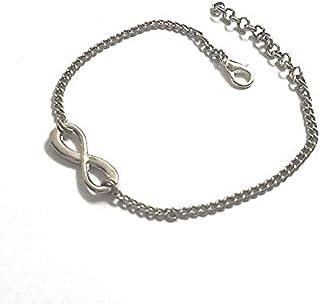 The Bling Stores Silver Alloy Infinity Bracelet for Men and Women | Girl Bracelets friendship band, friendship bands for g...