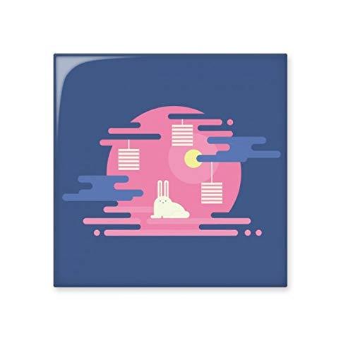 DIYthinker Kleurrijke Abstract Cloud Lantaarn Patroon Glanzende Keramische tegel Badkamer Keuken Wandsteen Decoratie Craft Gift Small