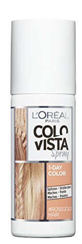 Colovista 1-Day-Color Spray 8 Rose Gold Hair, 75 g