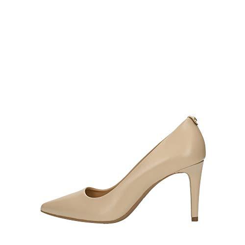 Michael Kors Damen Pumps Schuhe 40F6DOMP1L Dorothy Nude Leder Beige