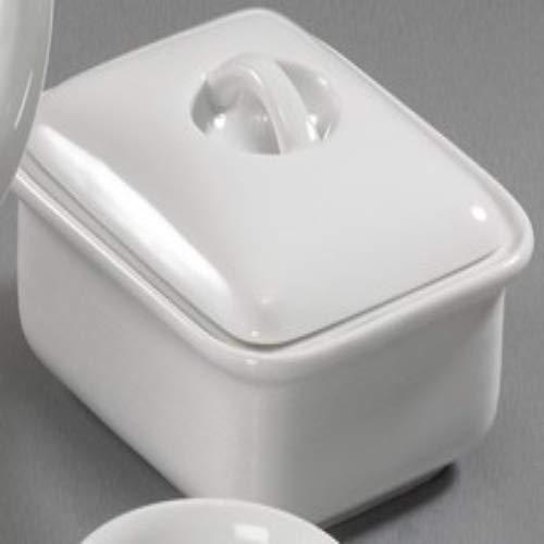 Thomas Trend Weiß - Butterdose mit Deckel,Porzelllan,weiß
