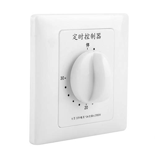 Emoshayoga Wasserpumpen-Countdown Intelligente Zeitschaltuhr Steuerpumpe Countdown Wasserpumpen-Timer für(30 Minutes Timer Switch)