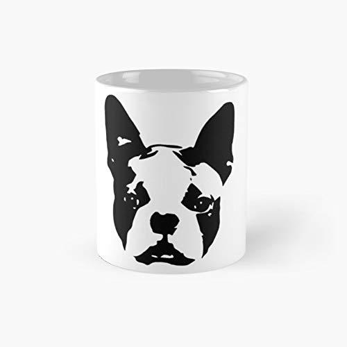 Boston Terrier Dog Gifts for You from Monofaces in 2020 Taza clásica | El mejor regalo divertidas tazas de café de 325 ml