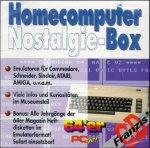 Homecomputer Nostalgie-Box, 1 CD-ROM Emulatoren für Commodore, Schneider, Sinclair, Atari, Amiga . . .. Z. Tl. Shareware. Für Windows 95/98