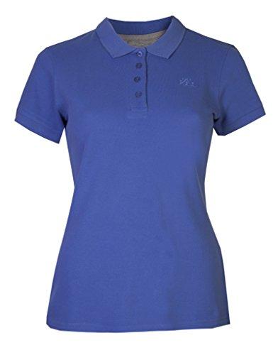 Brody & Co Damen Poloshirts, Pikee, Kurzarm, für Golf/Tennis/Fitness Gr. 40, blau
