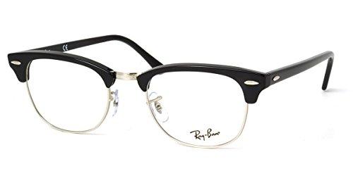 ■■■ レイバン スマート老眼鏡 ■■■ +1.00〜+3.50 の6段階! クラブマスター リーディンググラス シニアグラス に 非球面レンズ 採用! 紫外線カット Ray-Ban メガネフレーム RX5154 2000 49サイズ