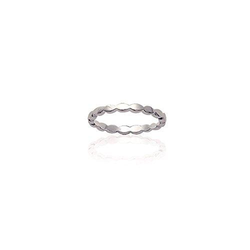 Les Plaisirs de Stella - Anello da donna in argento 925/000, larghezza 2 mm,