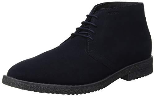 Geox U Brandled B, Stivali Desert Boots Uomo, Blu (Navy C4002), 42 EU