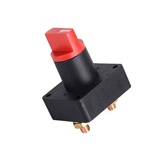ZHITING Commutateur de Batterie 300A Interrupteur de Coupure de Courant Isolateur Rotatif Universel Déconnecter Battery Switch pour Voiture Bateau
