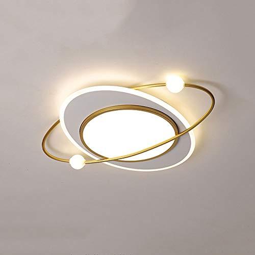 ZGZRXGY Luz de Techo de Montaje enrojeciquero y Simple y Sencillo, atenuación de Tri-Color LED, lámpara de Techo de Forma de Estrella de Estilo nórdico, Adecuado para Accesorios de luz de Dormitorio