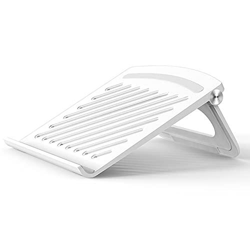 Supporto Verticale Per Laptop e Netbook Vassoi Di Appoggio Per Pc Portatili Supporto Per Laptop Stabile e Durevole Supporto Per Notebook Pieghevole Adatto Per Pc Laptop Ipad Kindle Inferiori a 17 Inch