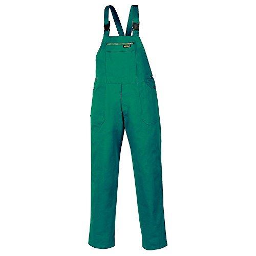 Texxor 8035 - Peto pantalones de trabajo básicos para la industria y la artesanía, 90, verde,
