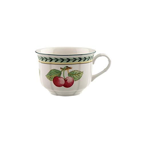 Villeroy & Boch French Garden Fleurence Taza, 350 ml, Altura 7.3 cm, Porcelana Premium, Blanco/Colorido