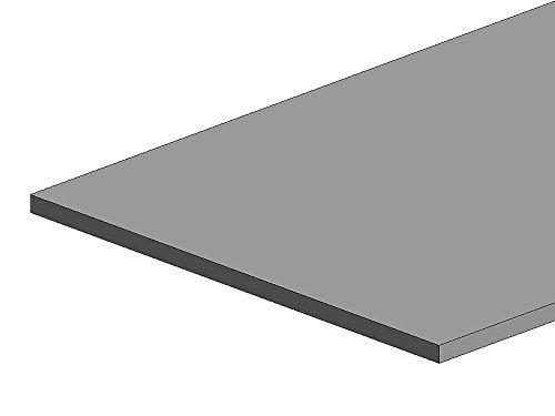 K & S Precision métaux 275 Boîte de feuilles, longueur de 0 cm d'épaisseur x 10,2 cm de large x 25,4 cm, ternes en acier plaqué en étain, Jauge de drap, 29, 6 pièces par boîte, fabriqué aux États-Unis