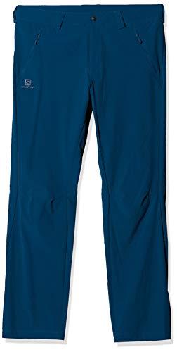 Salomon Herren Wayfarer Straight LT Pant Outdoor-Hose, Blau (Poseidon), 46