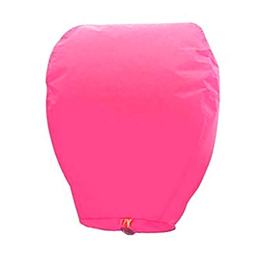 10 Pcs Chinese Lanterns to Release in Sky, Floating Sky Lanterns to Release in Sky Memorial, China Biodegradable Lanterns to Release in Sky 8 Colors, 31.5'x17' (Pink)