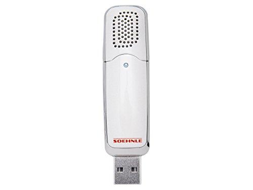 Soehnle 68062 Aroma diffuseur portable USB Plastique Blanc 140 x 9,5 x 2,3 cm