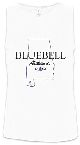 Urban Backwoods Bluebell Alabama Heren Tank Top Training Gym Shirt