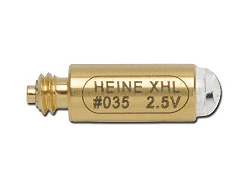 Heine lampje 2,5 V FO-laryngoscoop