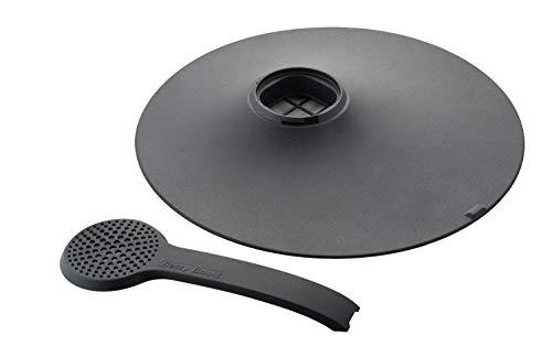 Betty Bossi Spritzschutzdeckel Spritzschutz Deckel für Pfannen von 24 bis 28 cm Kunststoff schwarz