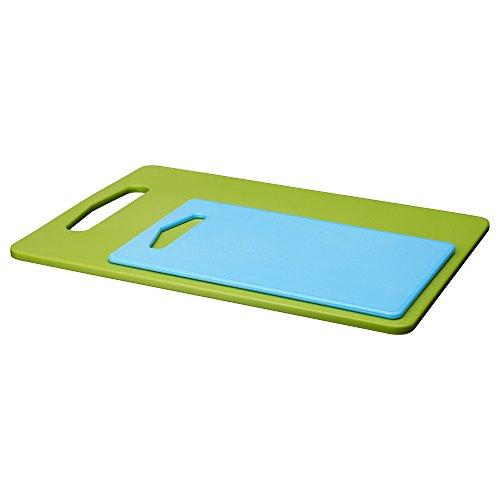 IKEA(イケア) LEGITIM 40163622 まな板2枚セット, グリーン, ブルー