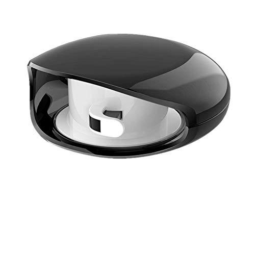 Qplcdg Kabel Organizer Kopfhörer, 2 Stück Automatik Kopfhörer Kabelaufwicklung-Geeignet für die Aufbewahrung von Kopfhörern, USB-Kabeln, tragbar und wiederverwendbar (Schwarz)