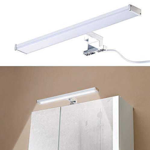 Sichler Beauty Spiegelschrankleuchte: LED-Spiegelleuchte zur Schrankmontage, 504 Lumen, 4000 K, 8 Watt, IP44 (Badleuchte)